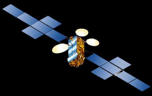 NSS-10 satellite in orbit