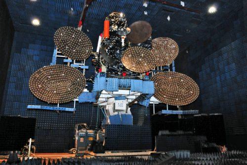 NSS-11 satellite under test