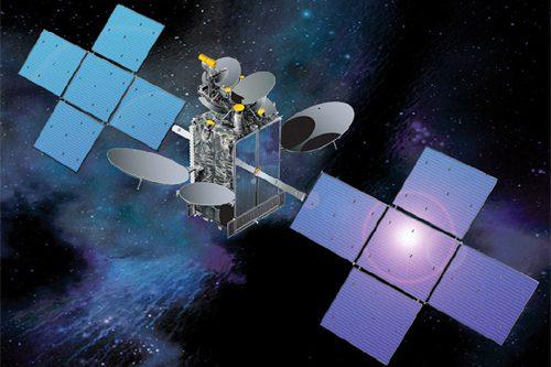 NSS-12 satellite in orbit