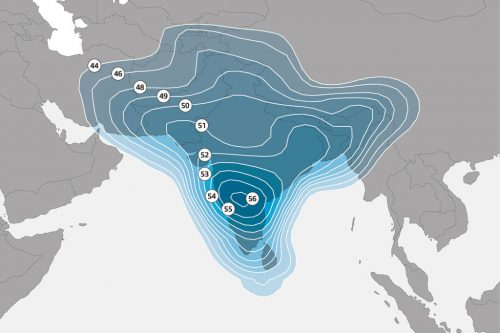 NSS-6 Indian sub continent Ku-band Spot Beam