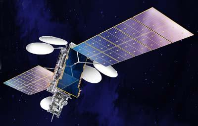 NSS-6 satellite in orbit