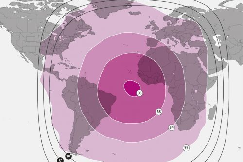 NSS-7 Global C-band Beam M