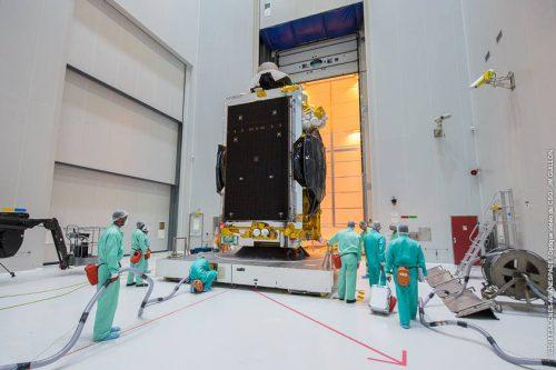 AMC-2 prepared for launch