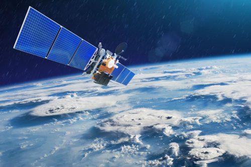 NSS-9 satellite in orbit