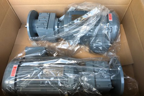 New motors/reductors for Earth Station Antennas supplied