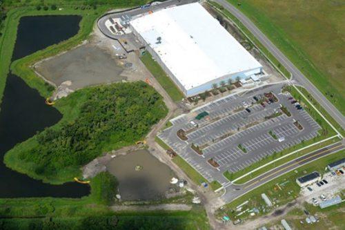 One Web Satellite manufacturing plant in Florida USA