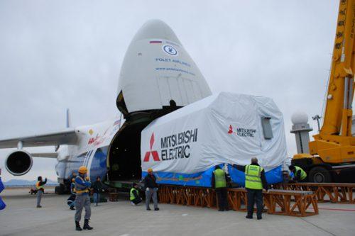 Optus C1 satellite delivered to Arianespace