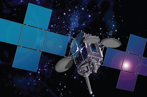 Optus C1 satellite in orbit