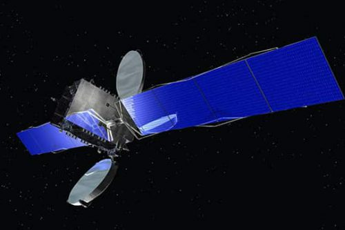 Optus D1 satellite in orbit