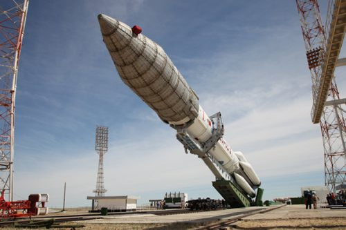 Proton-M raised at Baikonur Cosmodrome