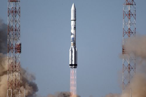 Proton M launching Viasat-1