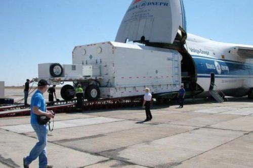 QuetzSat-1 satellite arrives at Baikonour Cosmodrome