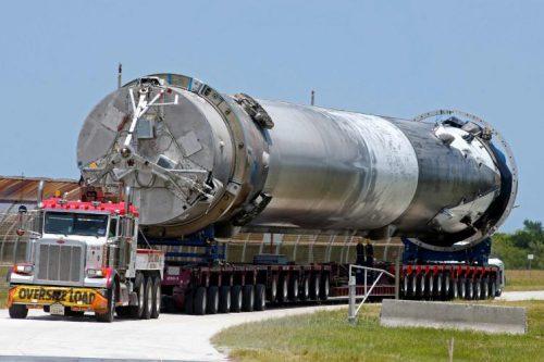Reusable Falcon rocket