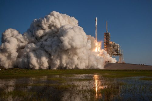 SES-10 launched on a Falcon 9 rocket