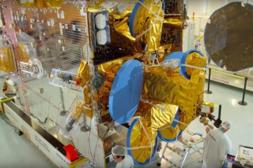 SES-10 readied for launch