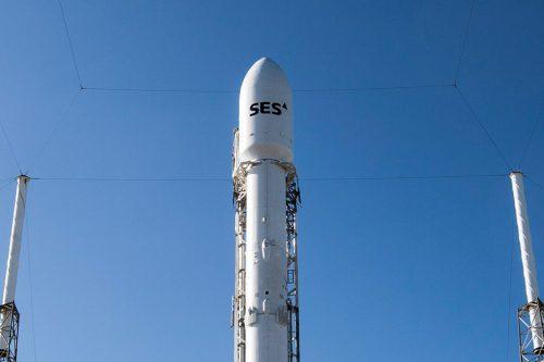SES-11/Echostar-105 Atop SpaceX' Falcon-9