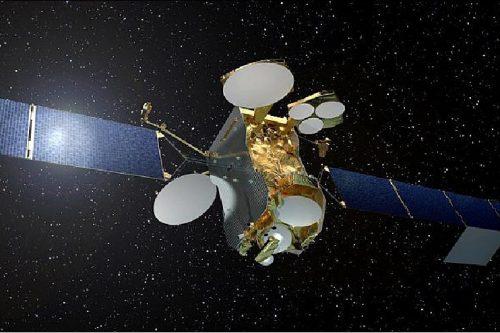 SES-12 satellite in orbit