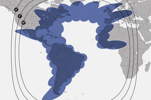 SES-14 Ku-band HTS outer contours M