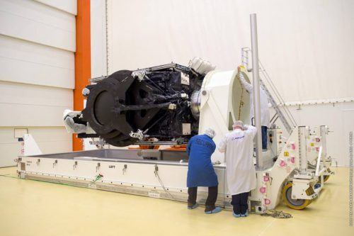 SES-15 arrived at the Kourou launch site