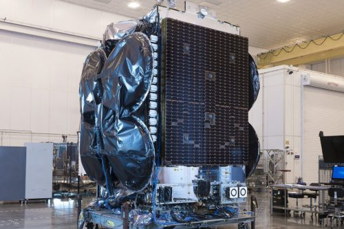 SES-2 satellite constructed by Orbital Sciences Corp.