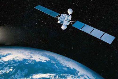 SES-2 satellite in orbit