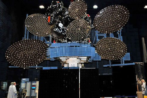 SES-4 satellite under construction