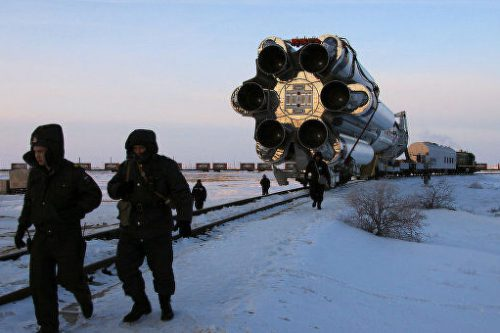 SES-4 transported to launch site