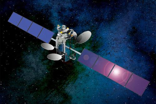 SES-5 satellite in orbit