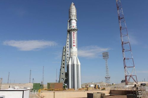 SES-6 on Proton rocket ready form launch