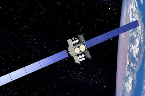 SES-7 satellite in orbit