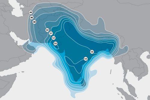 SES-8 South Asia Ku-band Beam M