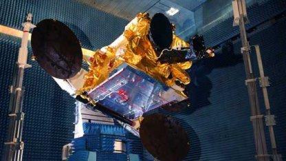 SES Astra 2E satellite under construction