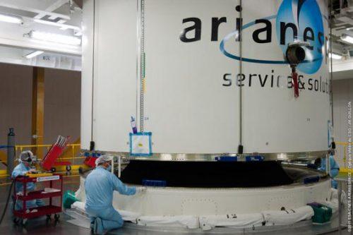 ST-2 in Ariane 5 rocket
