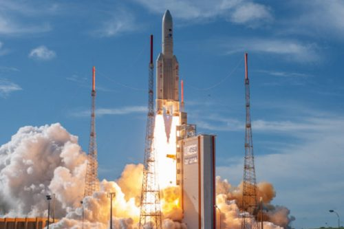 SatMex 6 launched by Arianespace