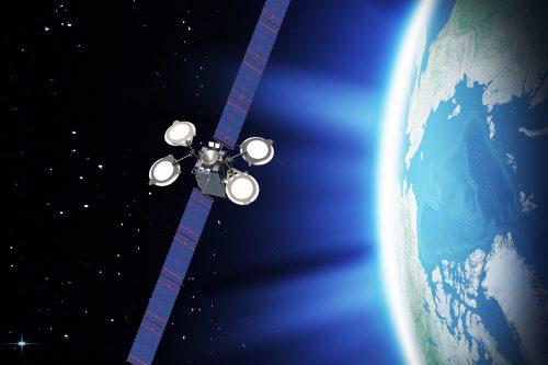 SatMex 9 in space