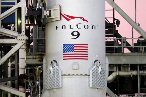 SpaceX Falcon 9 with KOREASAT-5a