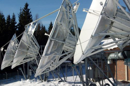 ASC Signal 5.6m with SHS full reflector de-icing