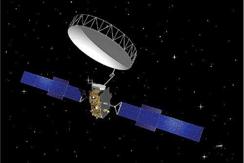 Alphasat satellite in orbit