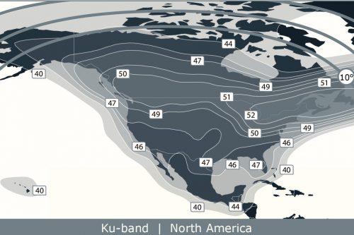 Anik F2 Ku-band North America beam