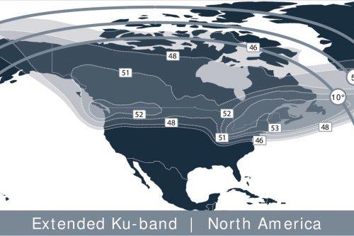 Anik G1 Ext. Ku-band North America beam