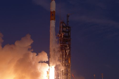 Atlas-IIA launching Inmarsat-3 F1