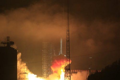 CGWIC LM3B launch of Nusantara 1