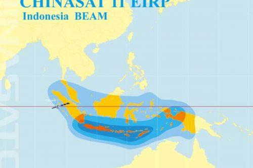 ChinaSat-11 Indonesia beam