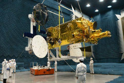 ChinaSat-18 satellite under construction