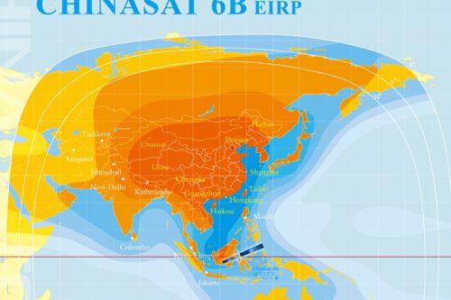 ChinaSat-6B China Ku-band EIRP beam