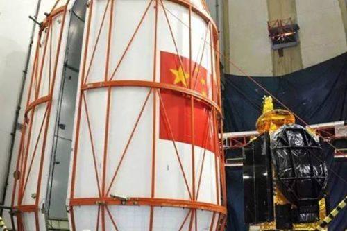 ChinaSat-6A satellite encapsulated