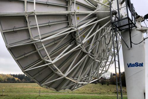 De-icing pads for Viasat 11.3m antenna