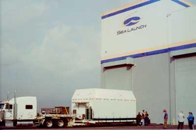 Estrela do Sul delivered to Sea Launch Home Port