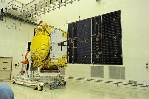 GSAT-14 solar panel tests