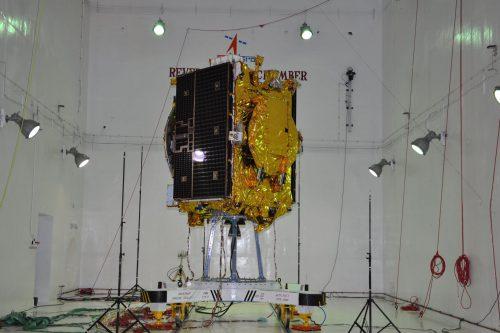 GSAT-9 under construction